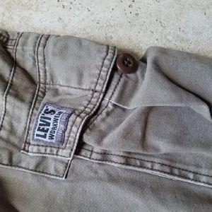 Levis cargo workwear shorts